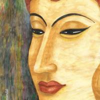 My painting, Buddha