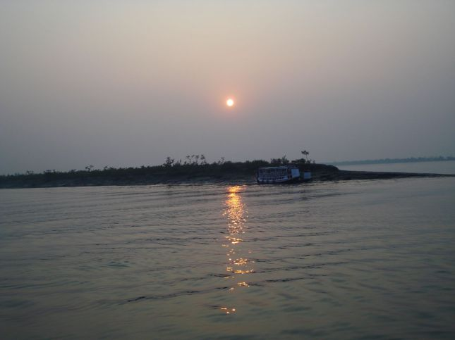 Sunset at Sundarbans (Gosaba)