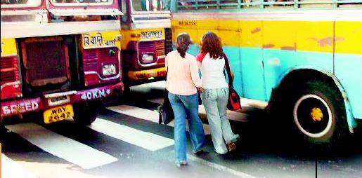 They are in hurry, no time for Green Signal for the pedestrians