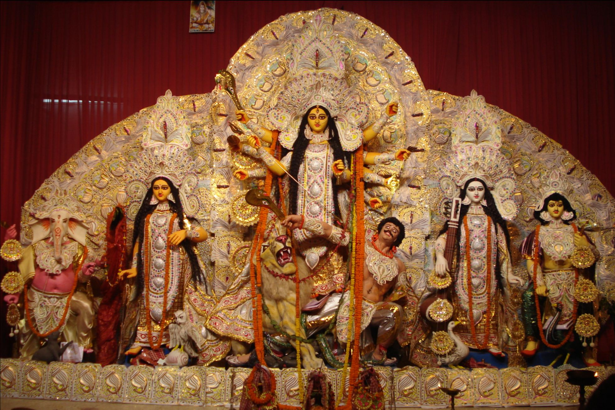 durga puja Durga puja(দুর্গাপূজা) is an oldest tradition of bengali hinduism durga puja  festival is also the largest festival of bangali as well as west bengal west bengal .