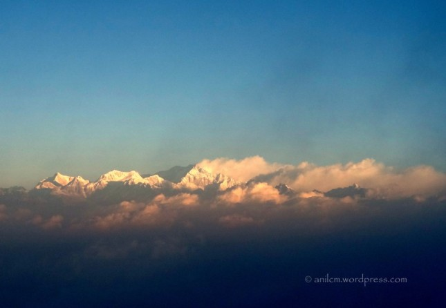 Sunrise over Kanchenjunga