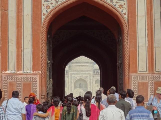 Taj gate