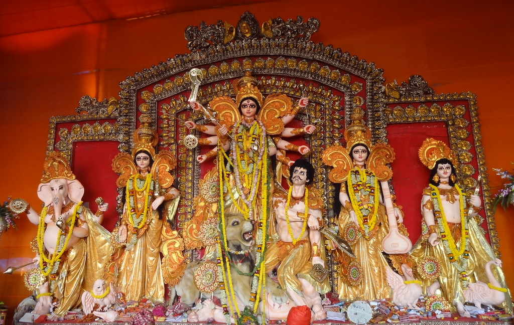 Durga puja 2013 hd photo