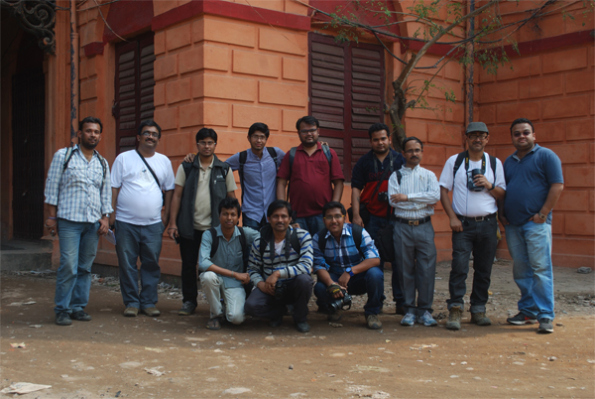 Third Wikipedia Kolkata Photowalk, Group Photo (Not the whole group)