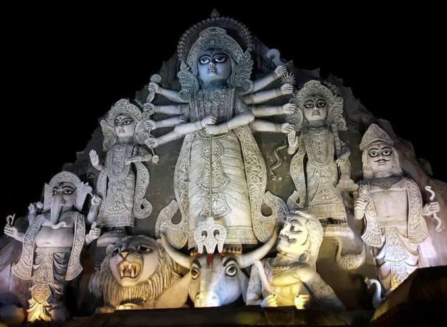 Tallest Durga
