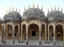 Inside Hawa Mahal