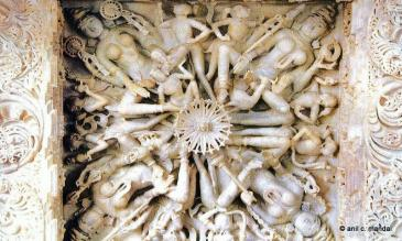 Marble work on Ceiling