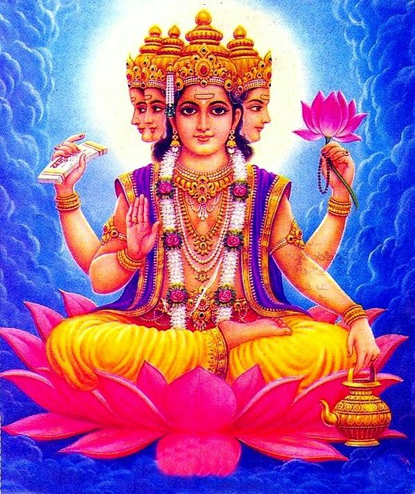 Creator God Brahma