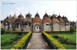 Temples appear like Rosary Beads; 108 Shiva Temples in Kalna